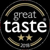 Great Taste Awards 2018 Gold 2-star Winner