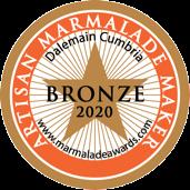 World Marmalde Awards 2020 Bronze