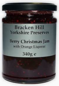 Berry Christmas Jam with Orange Liqueur
