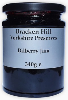 Bracken Hill Bilberry Jam 340g