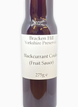 Blackcurrant Coulis 275g