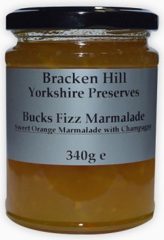 Bucks Fizz Marmalade 340g