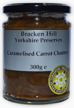 Bracken Hill Caramelised Carrot Chutney 300g