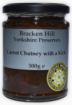 Bracken Hill Carrot Chutney with a Kick 300g