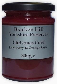 Bracken Hill Christmas Curd 300g