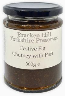 Festive Fig Chutney with Port