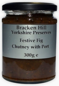 Festive Fig Chutney with Port