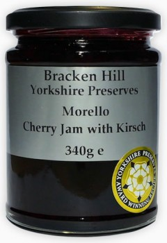 Morello Cherry Jam with Kirsch 340g