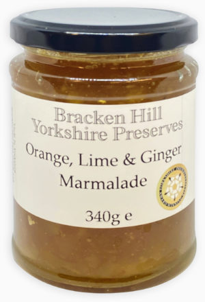 Orange Lime and Ginger Marmalade