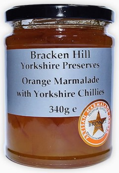 Orange Marmalade with Yorkshire Chillies 340g