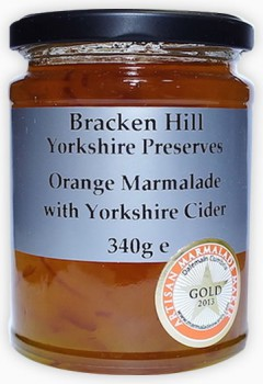 Orange Marmalade with Yorkshire Cider 340g