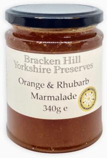 Orange and Rhubarb Marmalade