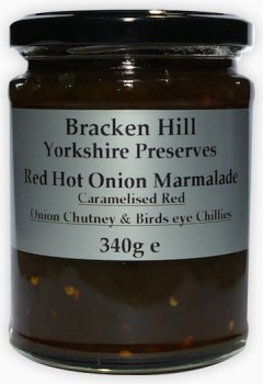 Bracken Hill Red Hot Onion Marmalade 340g