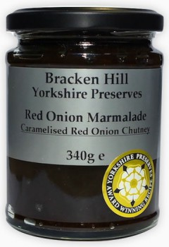 Bracken Hill Red Onion Marmalade Chutney 340g
