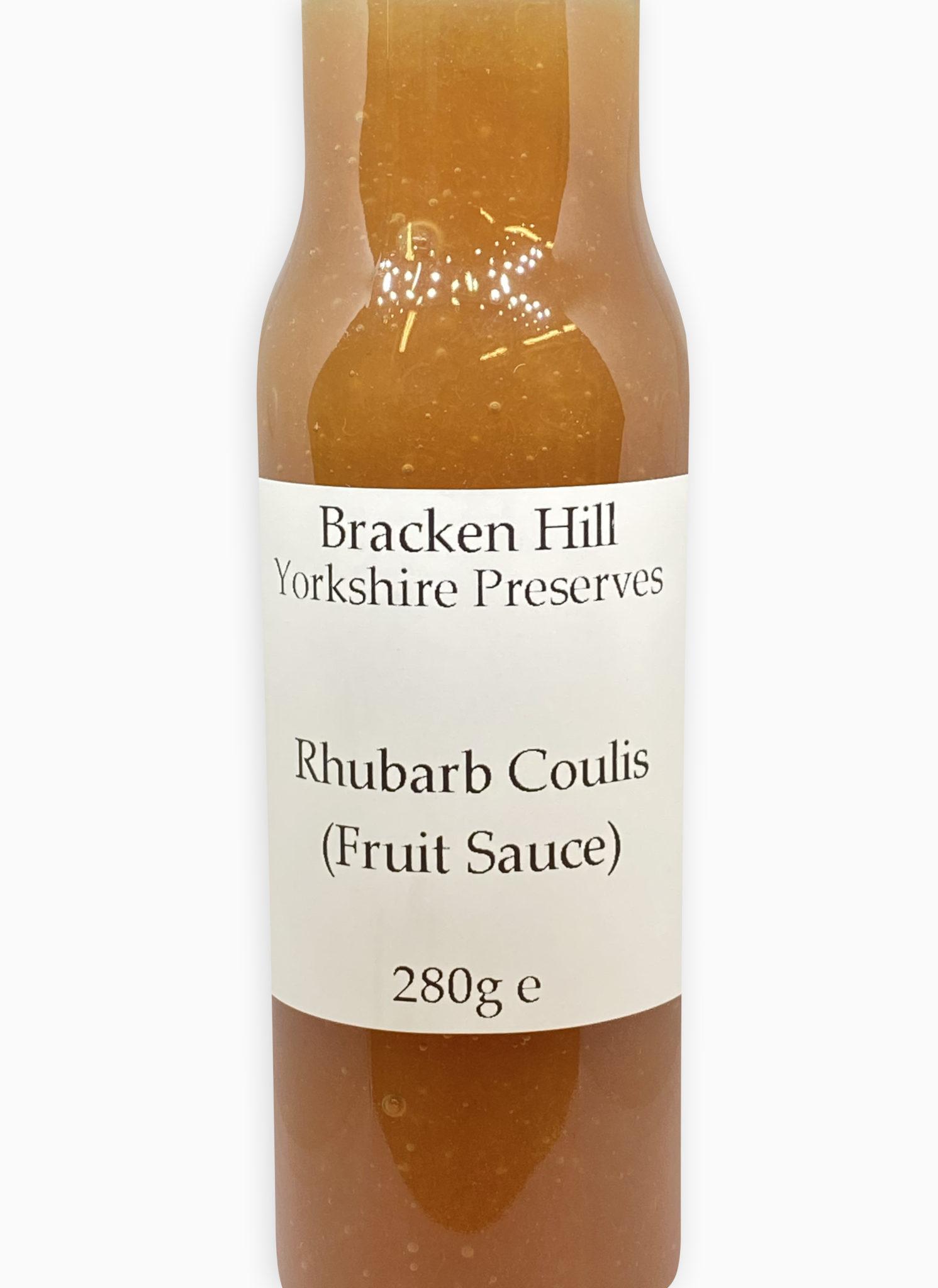 Rhubarb Coulis