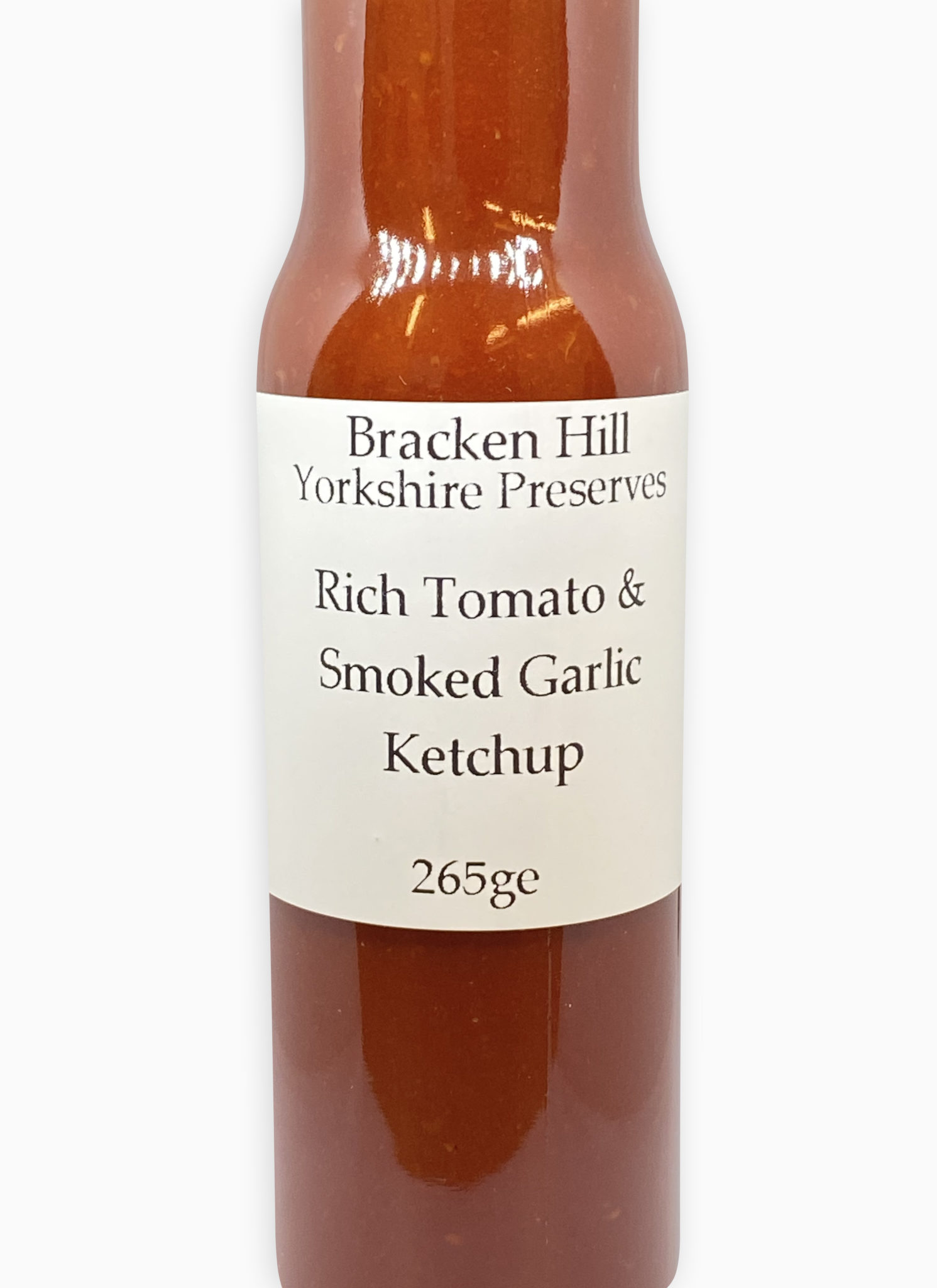 Rich Tomato and Smoked Garlic Ketchup