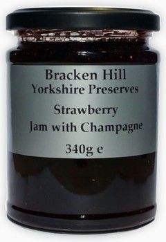 Strawberry Jam with Champagne 340g