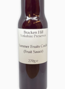 Summer Fruits Coulis