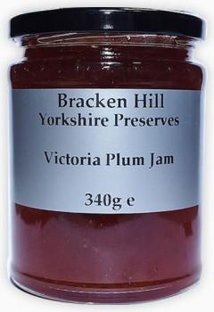 victoria plum jam 340g bracken hill fine foods. Black Bedroom Furniture Sets. Home Design Ideas