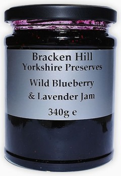 Wild Blueberry & Lavendar Jam 340g