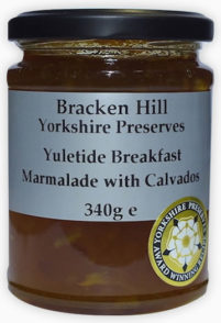 Yuletide Breakfast Marmalade with Calvados