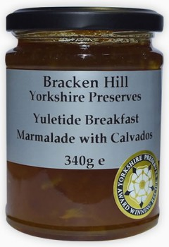 Yuletide/ Breakfast Marmalade with Calvados 340g
