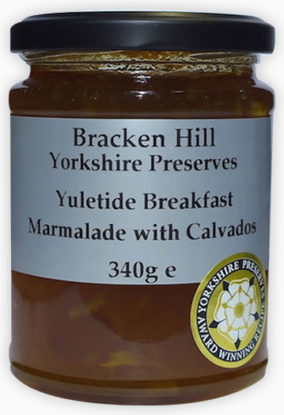 Yuletide Breakfast Marmalade with Calvados 340g