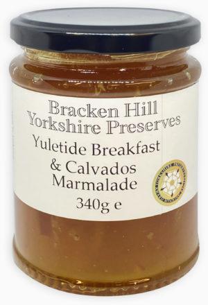 Yuletide Breakfast and Calvados Marmalade