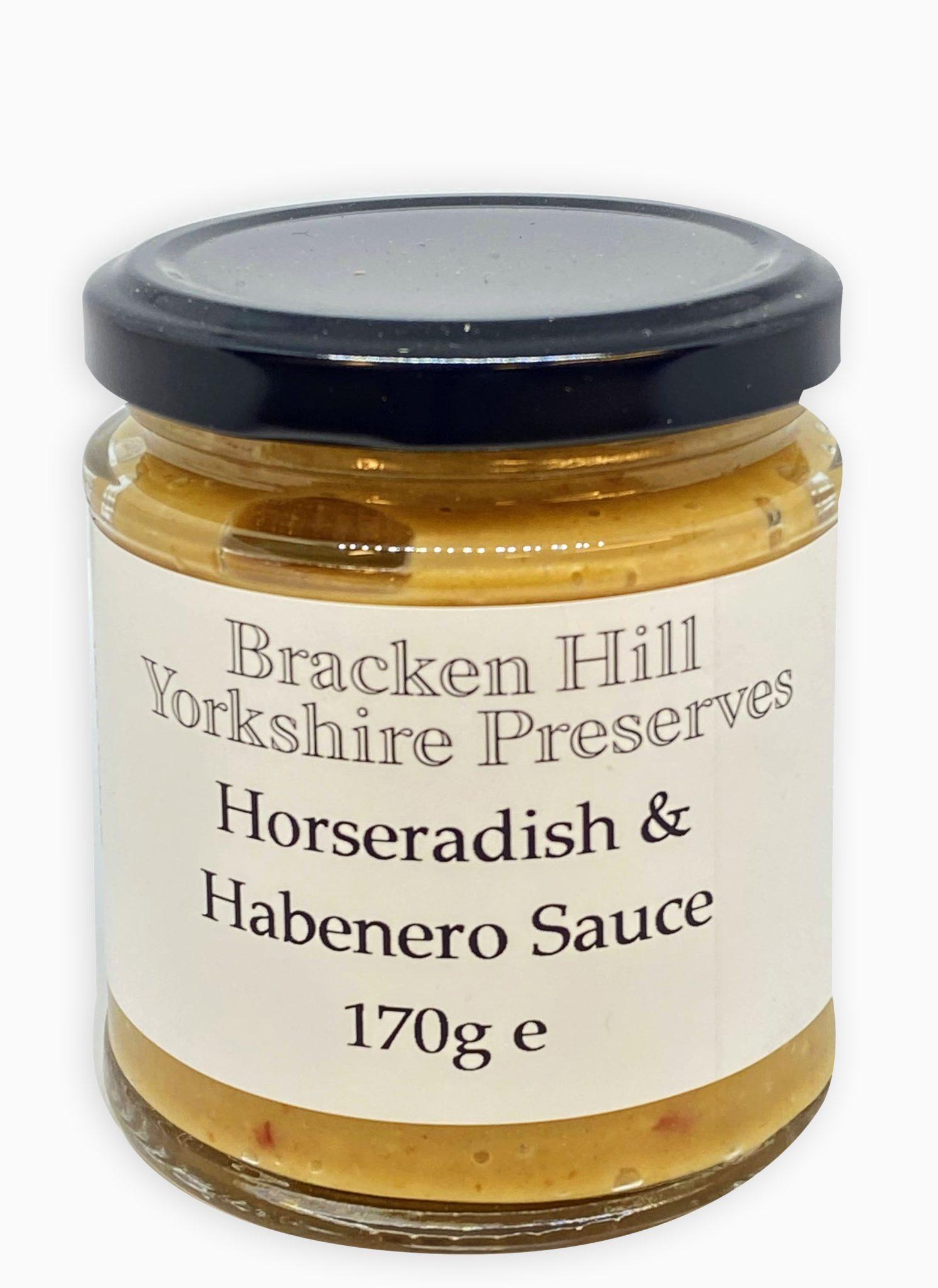 Horseradish and Habanero Sauce