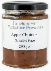 Apple Chutney No Added Sugar