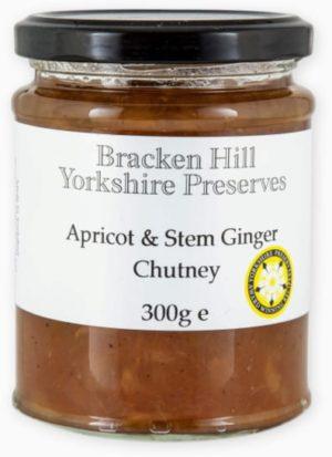 Apricot & Stem Ginger Chutney