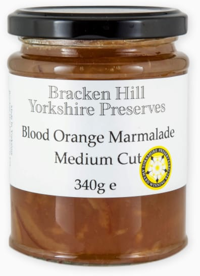 Blood Orange Marmalade Medium Cut
