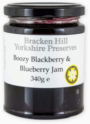 Boozy Blackberry & Blueberry Jam 340g