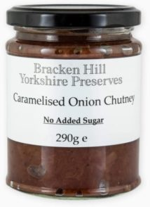 Caramelised Onion Chutney No Added Sugar
