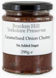Caramelised Onion Chutney No Added Sugar