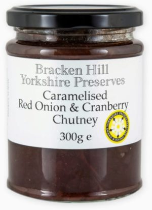 Caramelised Red Onion & Cranberry Chutney 300g