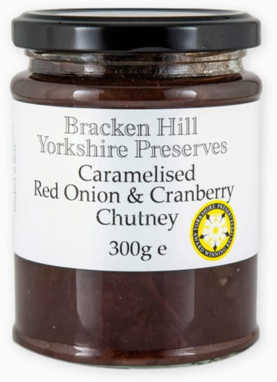 Caramelised Red Onion & Cranberry Chutney