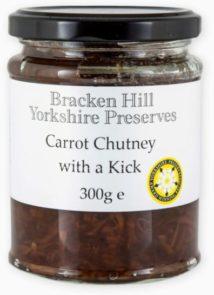 Carrot Chutney with a Kick