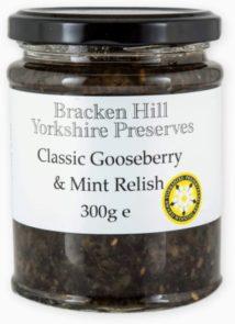 Gooseberry & Mint Relish