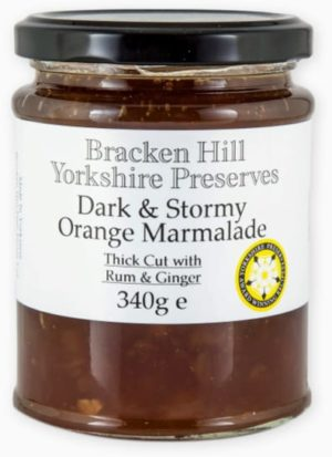 Dark & Stormy Orange Marmalade 340g