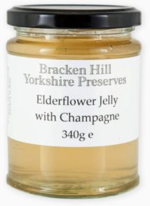 Elderflower Jelly with Champagne