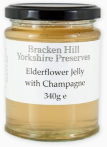 Elderflower Jelly with Champagne