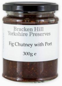 Fig Chutney with Port