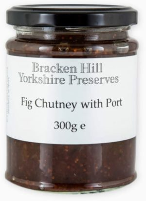 Fig Chutney with Port 300g