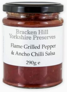 Flame Grilled Pepper & Ancho Chilli Salsa