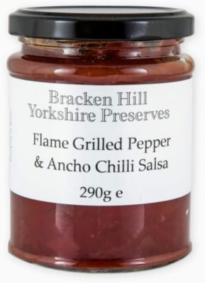 Flame Grilled Pepper & Ancho Chilli Salsa 290g