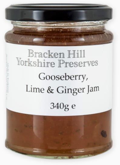 Gooseberry Lime & Ginger Jam