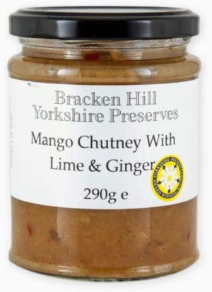 Mango Chutney with Lime & Ginger