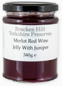 Merlot Red Wine Jelly with Juniper