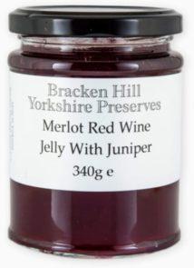 Merlot Red Wine Jelly with Juniper